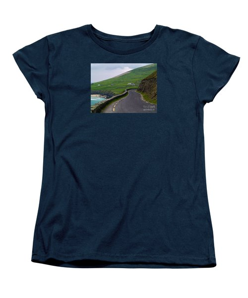 The Long And Winding Road Women's T-Shirt (Standard Cut) by Patricia Griffin Brett