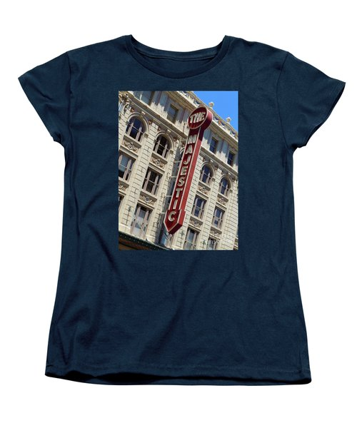 Women's T-Shirt (Standard Cut) featuring the photograph The Majestic Theater Dallas #2 by Robert ONeil
