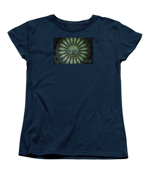 Women's T-Shirt (Standard Cut) featuring the photograph The Mask by Donna Brown