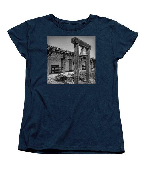 The Mission Bell B/w Women's T-Shirt (Standard Cut) by Hanny Heim
