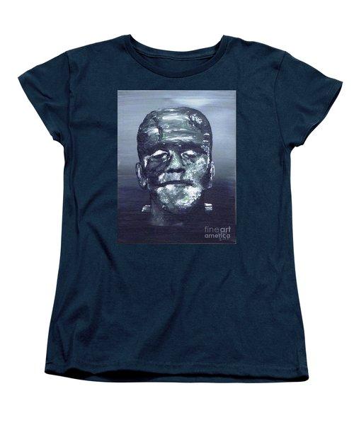 The Monster Women's T-Shirt (Standard Cut) by Alys Caviness-Gober
