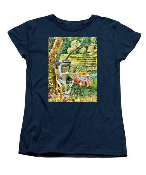The More That You Read... Women's T-Shirt (Standard Cut)