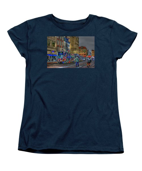 Women's T-Shirt (Standard Cut) featuring the photograph The Morning Rhythm by Ron Shoshani
