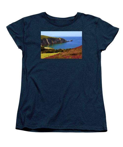 The Needles Women's T-Shirt (Standard Cut) by Ron Harpham