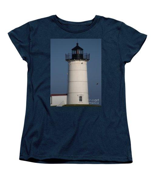Women's T-Shirt (Standard Cut) featuring the photograph Lighthouse by Eunice Miller