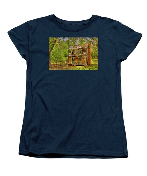 The Old Home Place Women's T-Shirt (Standard Cut) by Dan Stone