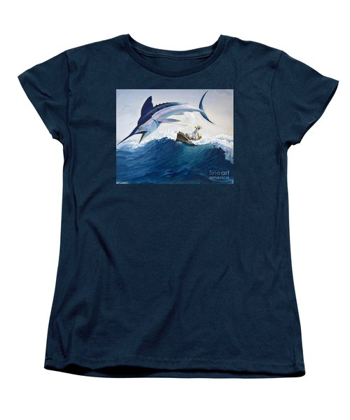 The Old Man And The Sea Women's T-Shirt (Standard Cut) by Harry G Seabright