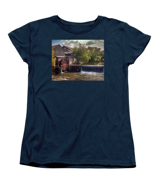 Women's T-Shirt (Standard Cut) featuring the photograph The Old Mill by Janice Spivey