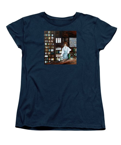 The Old Pharmacy ... Medicine In The Making Women's T-Shirt (Standard Cut) by Eloise Schneider