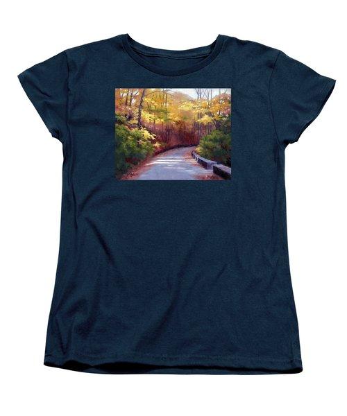 The Old Roadway In Autumn II Women's T-Shirt (Standard Cut)