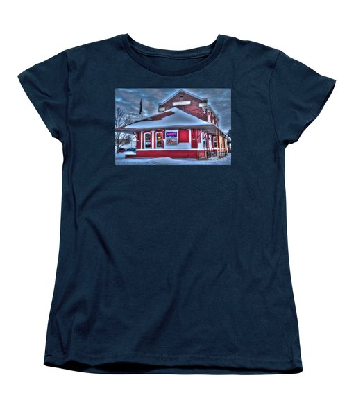 The Old Train Station Women's T-Shirt (Standard Cut) by Terri Gostola