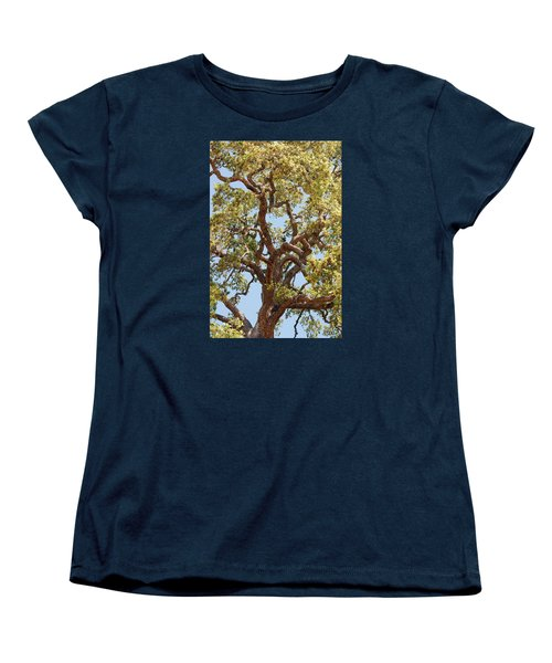 The Old Tree Women's T-Shirt (Standard Cut) by Connie Fox