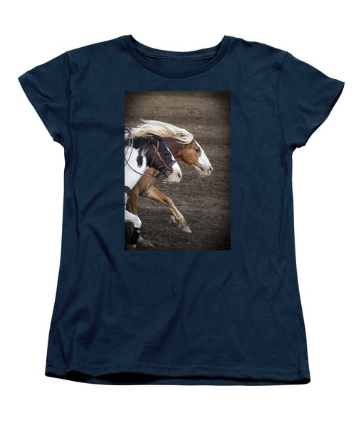 Women's T-Shirt (Standard Cut) featuring the photograph The Outlaw And The Law by Caitlyn  Grasso