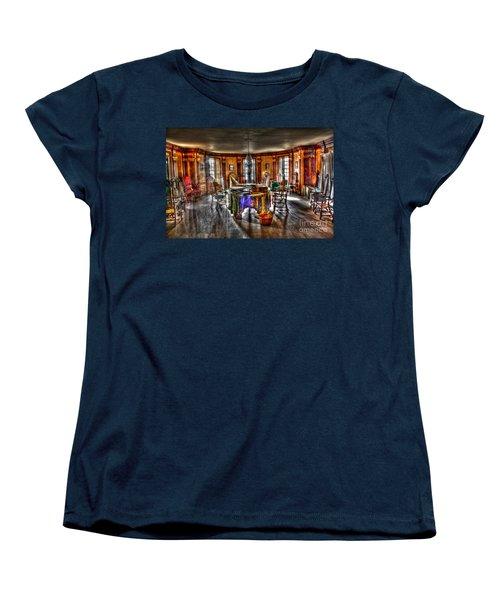 The Parlor Visit Women's T-Shirt (Standard Cut) by Dan Stone