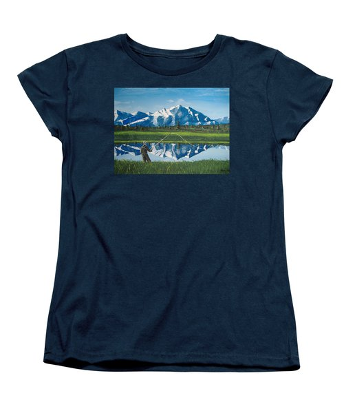 The Perfect Cast Women's T-Shirt (Standard Cut) by Norm Starks