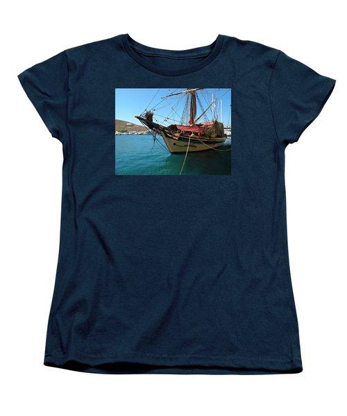 The Pirate Ship  Women's T-Shirt (Standard Cut)
