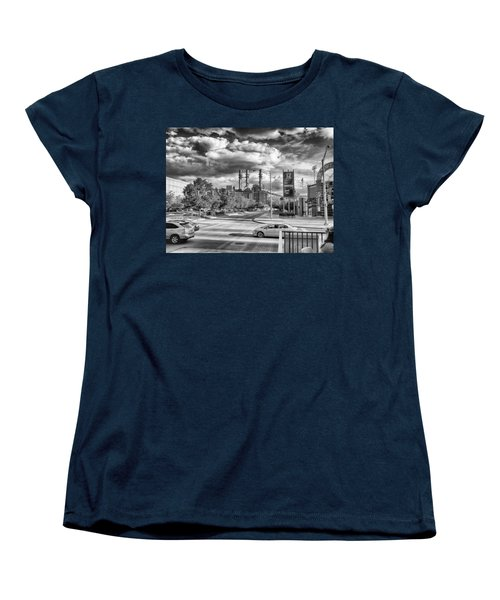 Women's T-Shirt (Standard Cut) featuring the photograph The Power Station by Howard Salmon