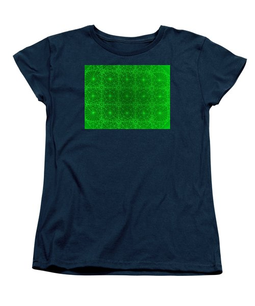 Women's T-Shirt (Standard Cut) featuring the drawing The Quantum Realm by Jason Padgett
