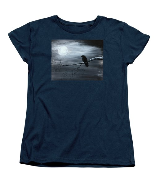 The Raven Piece 2 Of 2 Women's T-Shirt (Standard Cut) by Gray  Artus