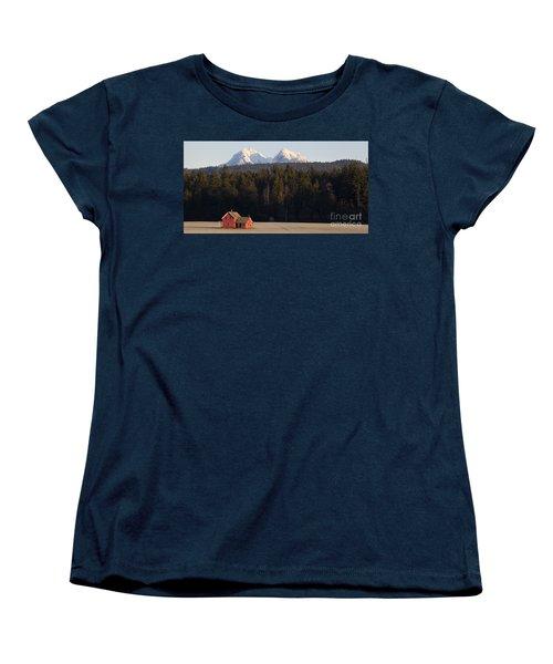 The Red House Women's T-Shirt (Standard Cut) by Chris Dutton