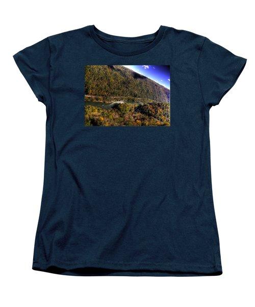 The River Below Women's T-Shirt (Standard Cut) by Jonny D