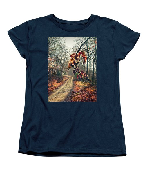 The Road Home Women's T-Shirt (Standard Cut) by Jessica Brawley