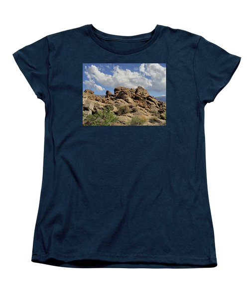 The Rock Garden Women's T-Shirt (Standard Cut) by Michael Pickett