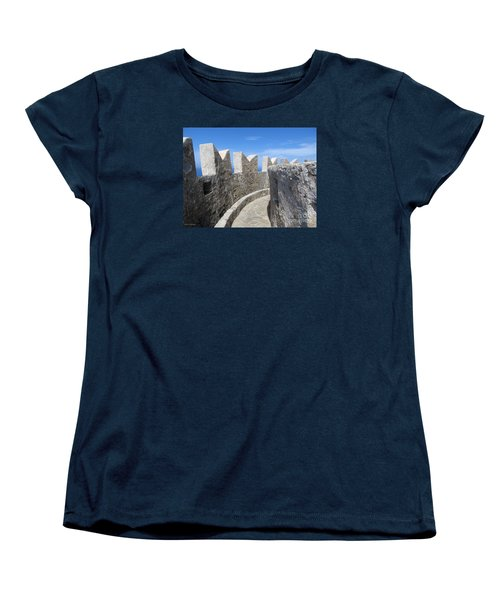 Women's T-Shirt (Standard Cut) featuring the photograph The Rocks And The Path by Ramona Matei