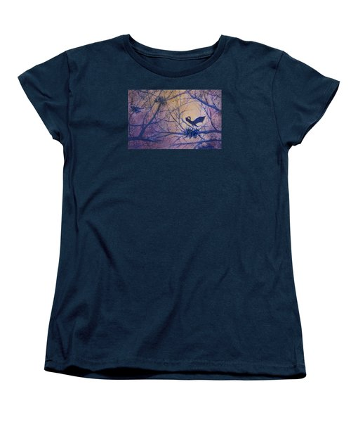 The Rookery Revisited Women's T-Shirt (Standard Cut) by Lee Beuther