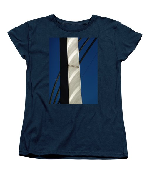 The Sail Sculpture  Women's T-Shirt (Standard Cut) by Steve Taylor