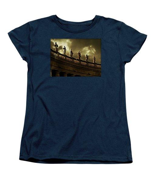 Women's T-Shirt (Standard Cut) featuring the photograph The Saints  by Micki Findlay