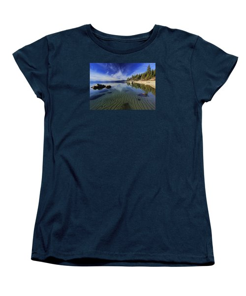 Women's T-Shirt (Standard Cut) featuring the photograph The Sands Of Time by Sean Sarsfield