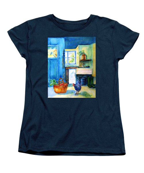 The Scullery  Women's T-Shirt (Standard Cut) by Trudi Doyle