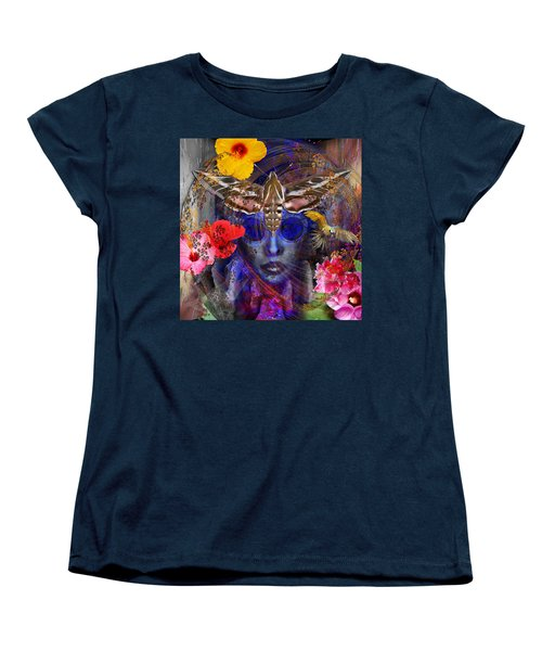 The Search For Hibiscus Life Women's T-Shirt (Standard Cut) by Joseph Mosley