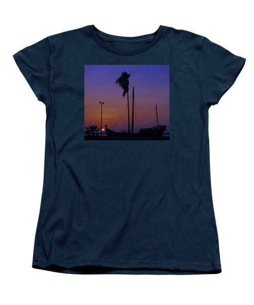 Women's T-Shirt (Standard Cut) featuring the photograph The Ship by Leticia Latocki