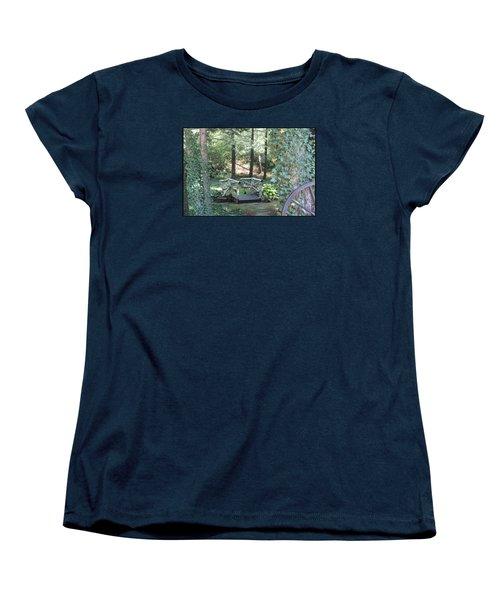 The Path Women's T-Shirt (Standard Cut) by Debra     Vatalaro