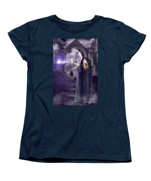 The Spell Is Cast Women's T-Shirt (Standard Cut) by Linda Lees