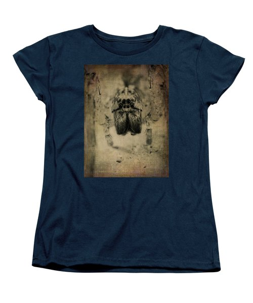 The Spider Series Xiii Women's T-Shirt (Standard Cut) by Marco Oliveira