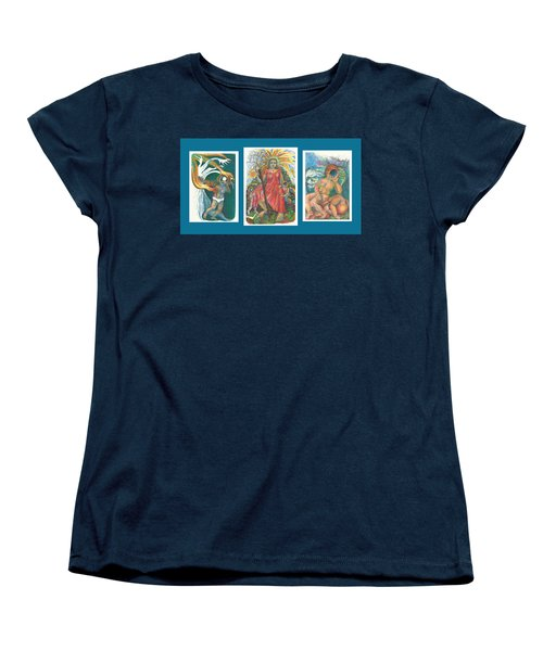 The Strength Tryptic Women's T-Shirt (Standard Cut) by Melinda Dare Benfield
