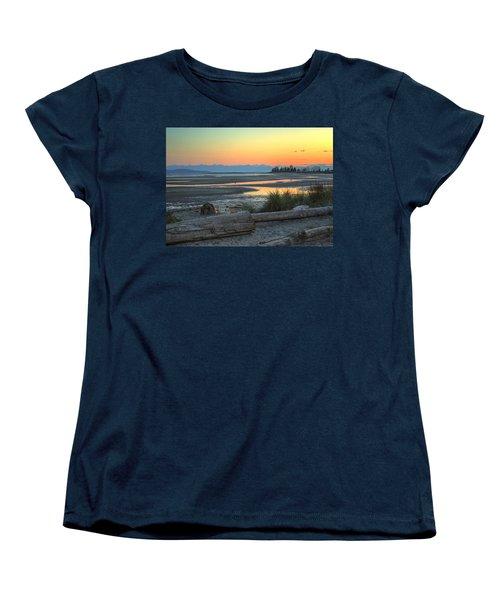The Tide Is Low Women's T-Shirt (Standard Cut) by Randy Hall