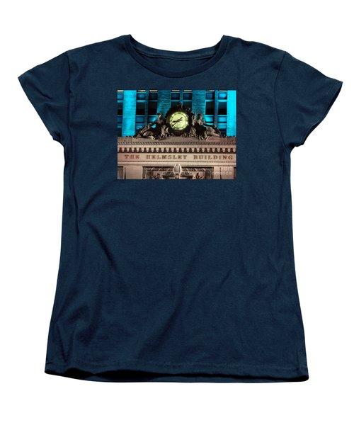 The Time Keepers Women's T-Shirt (Standard Cut) by Ed Weidman