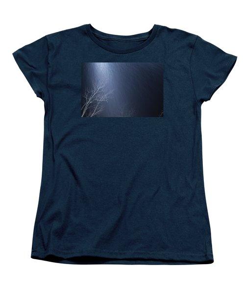 The Tree Under The Snowfall Women's T-Shirt (Standard Cut)