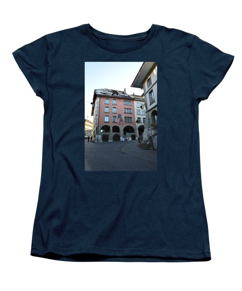 Women's T-Shirt (Standard Cut) featuring the photograph The Upper Town by Felicia Tica