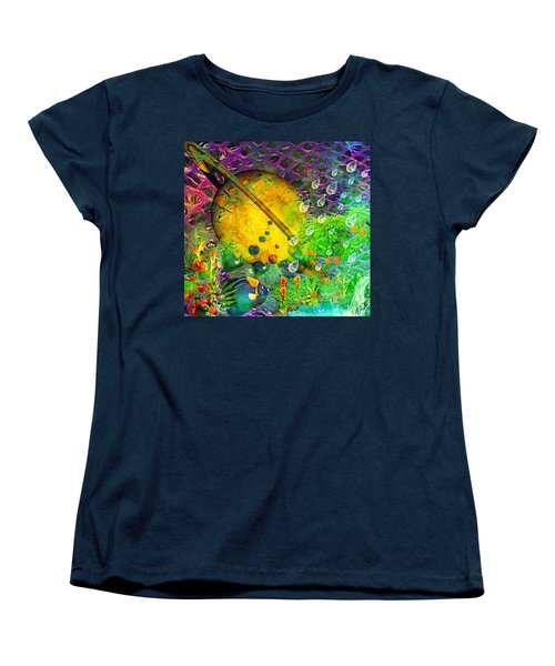 The View From A Moon Women's T-Shirt (Standard Cut) by Ally  White
