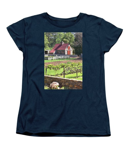 The Vineyard Barn Women's T-Shirt (Standard Cut)