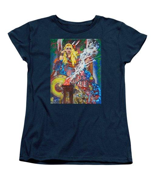 The Warrior Queen Women's T-Shirt (Standard Cut) by Alys Caviness-Gober