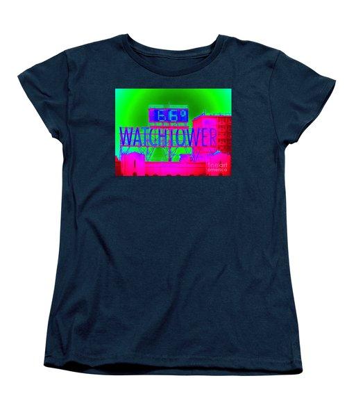 The Watchtower Women's T-Shirt (Standard Cut) by Ed Weidman