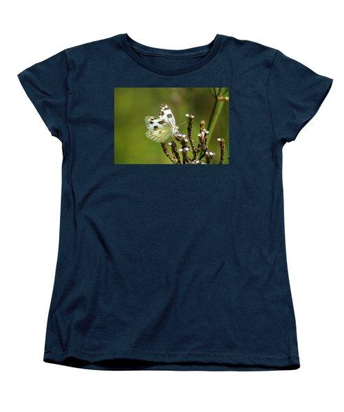 The Western White Women's T-Shirt (Standard Cut) by Kim Pate