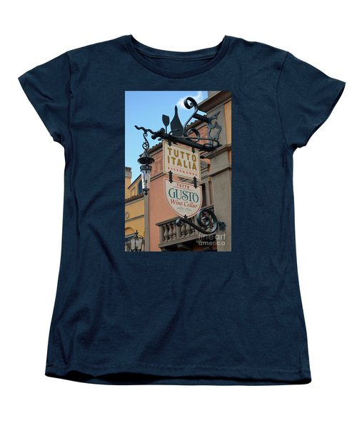 Women's T-Shirt (Standard Cut) featuring the photograph The Wine Cellar by Robert Meanor