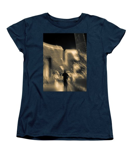 Women's T-Shirt (Standard Cut) featuring the photograph The World Is My Oyster by Alex Lapidus